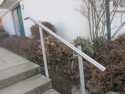 Treppengeländer außen